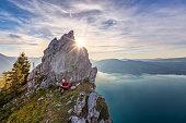Austria, Upper Austria, Attersee, Salzkammergut, Salzburger Land