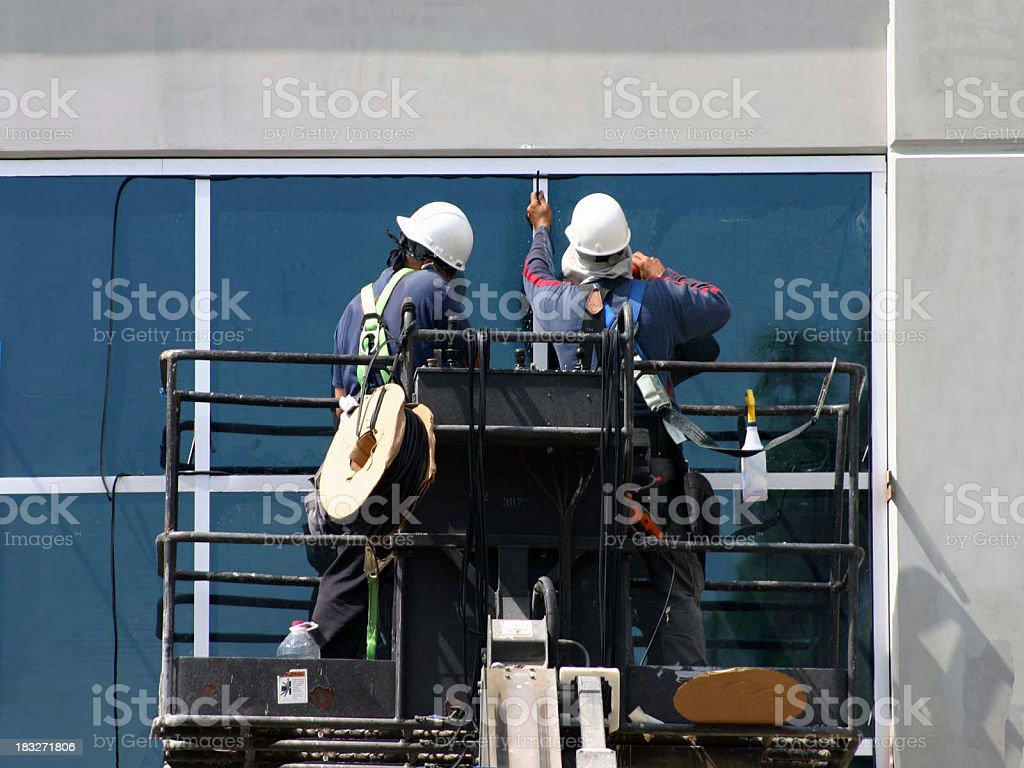 Man at work 17series royalty-free stock photo