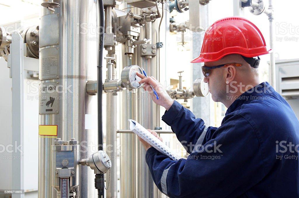 man at work stock photo