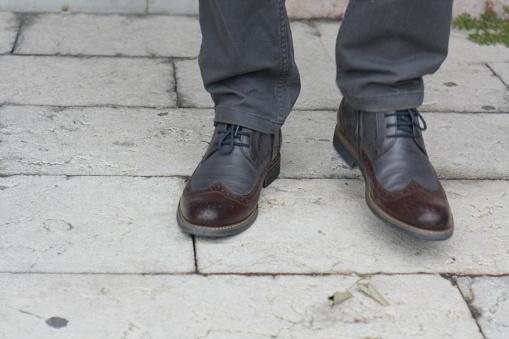 627398448 istock photo Man Autumn Classic Dress Shoe 1044433152