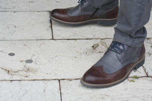 627398448 istock photo Man Autumn Classic Dress Shoe 1044433164