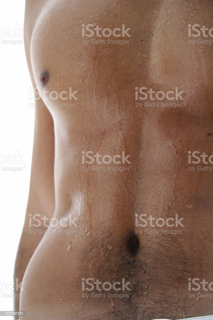 Man Body royalty-free stock photo