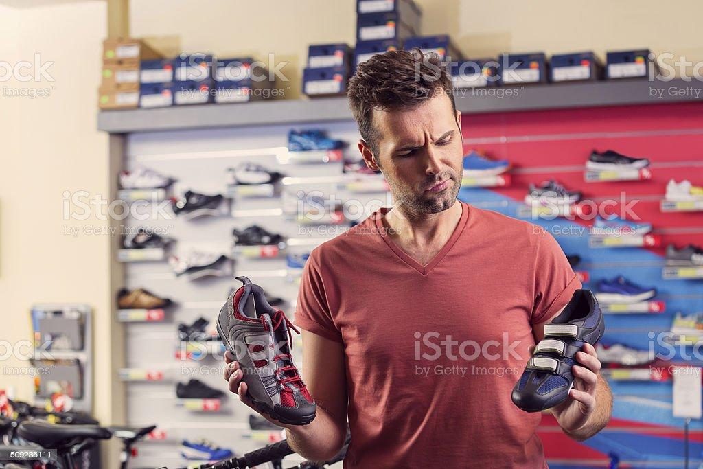 Mann Kauf cycling Schuhe – Foto