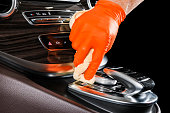 istock A man cleaning car with microfiber cloth. Car detailing or valeting concept. Selective focus. Car detailing. Cleaning with sponge. Worker cleaning. Car wash concept solution to clean 1139726943