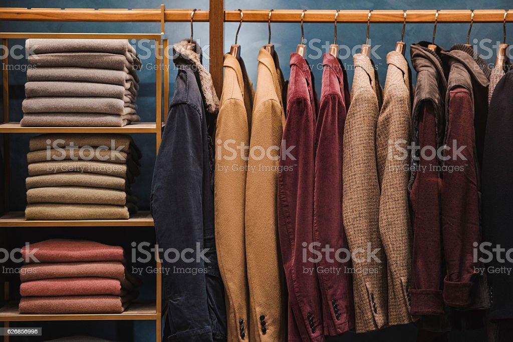 Mann Kleidung - Lizenzfrei Auslage Stock-Foto