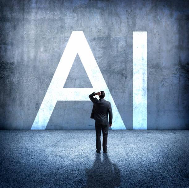 Man besorgt über die Auswirkungen der künstlichen Intelligenz – Foto