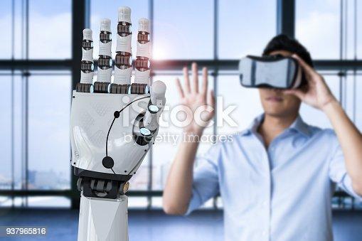istock man control robot 937965816