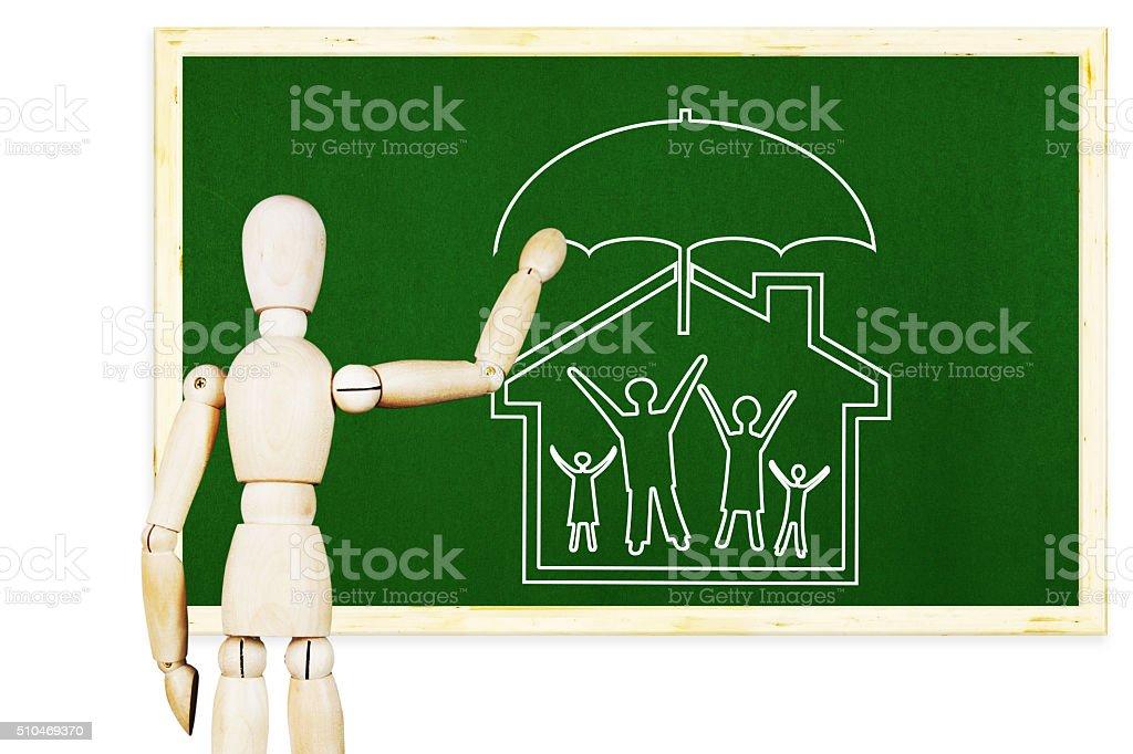 5ebce31306e9 Hombre de premios símbolo de familia tradicional y los valores morales foto  de stock libre de