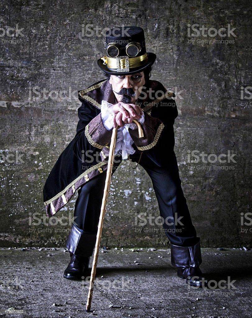 Vittoriano Steampunk Abbigliamento Muro Vestito Uomo Sfondo In Di tdsrxQhCB
