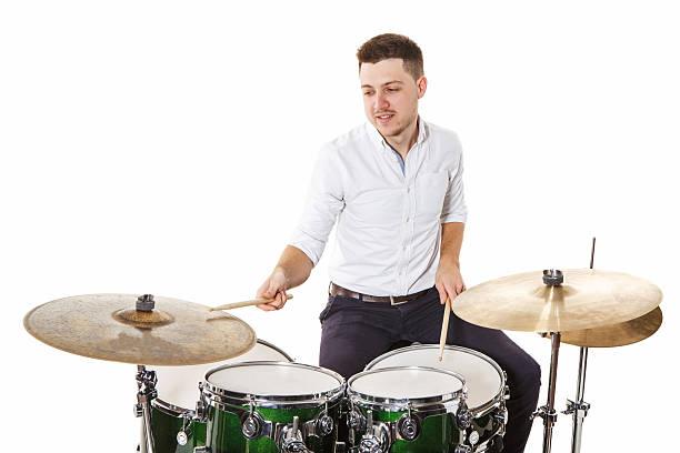 Mann drummer – Foto
