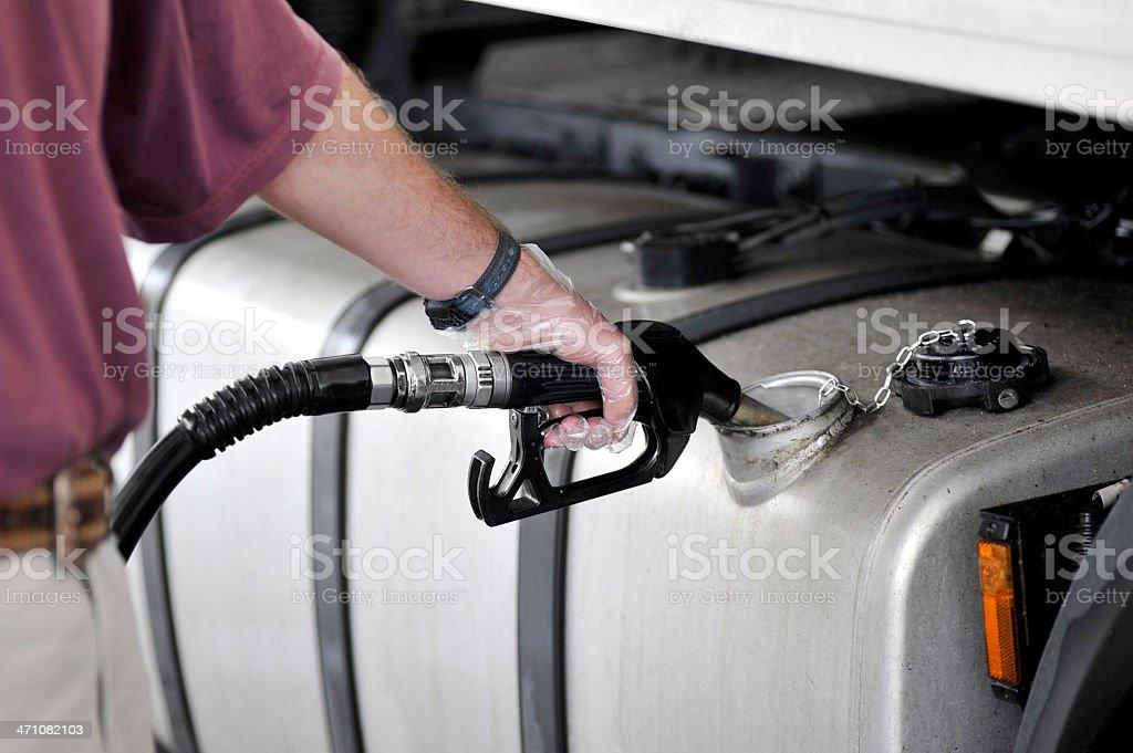 Füllen gas-tank-Top – Foto