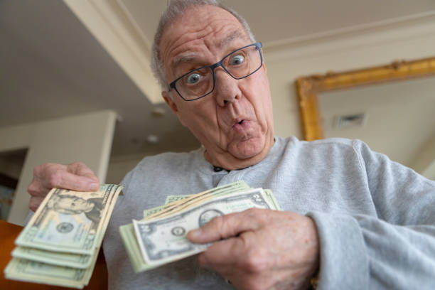529 Crazy Man With Cash Stock Photos, Pictures & Royalty-Free Images - iStock
