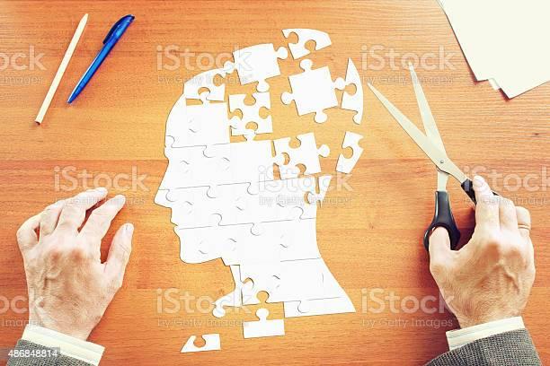 Man gathers a human head as puzzles picture id486848814?b=1&k=6&m=486848814&s=612x612&h=fvqz9gmyyai52yd0scaq7g6bliijgsxgp9pqex1ry5q=