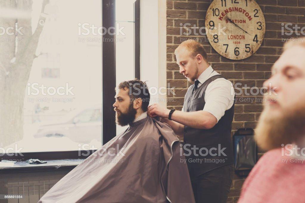 Getting A Haircut 99