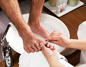 Men's Foot Care In The Beauty Parlour (Pedicure)Please see some similar pictures from my portfolio: