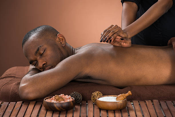 2,614 Black Man Massage Stock Photos, Pictures & Royalty-Free Images -  iStock