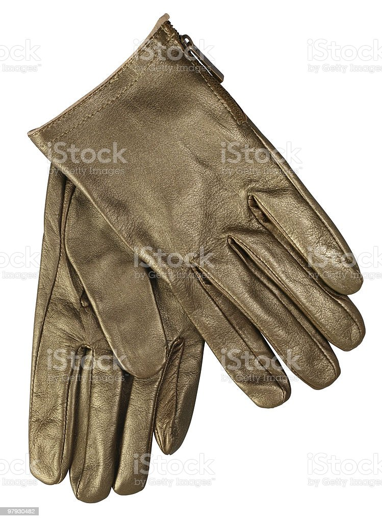 Man glove royalty-free stock photo