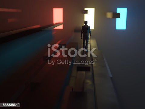 513735180istockphoto man going to the light 873338642