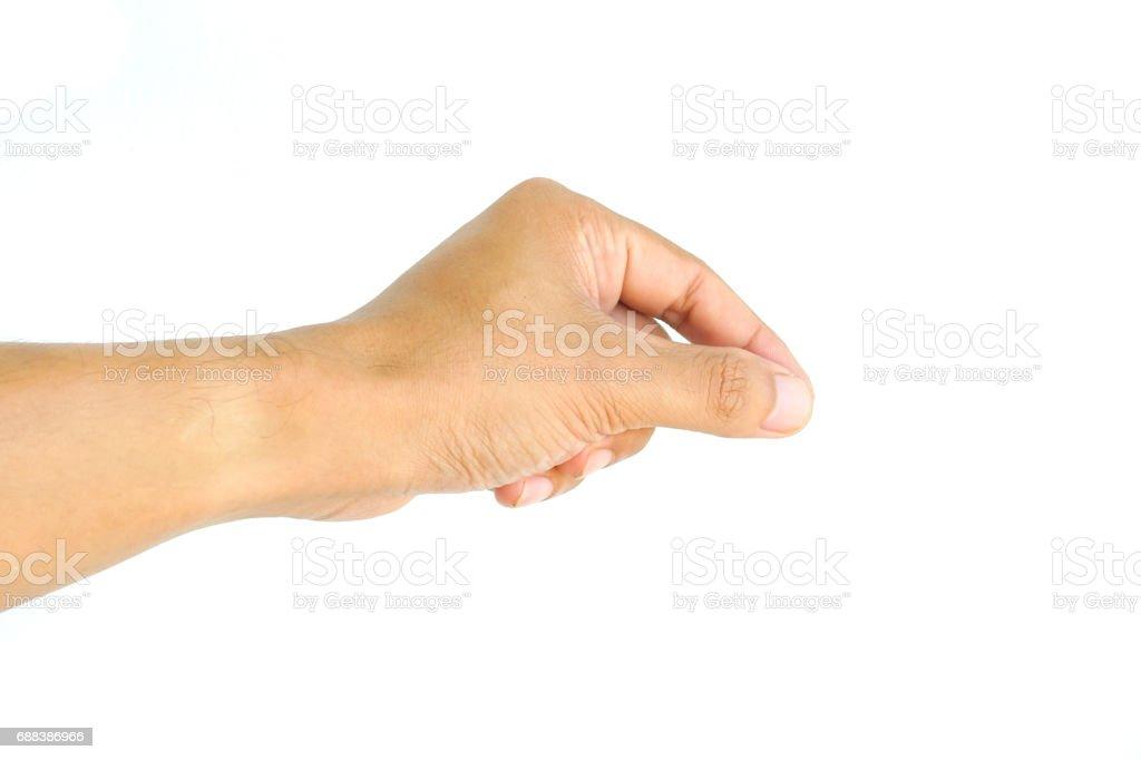 Mann hand sign – Foto