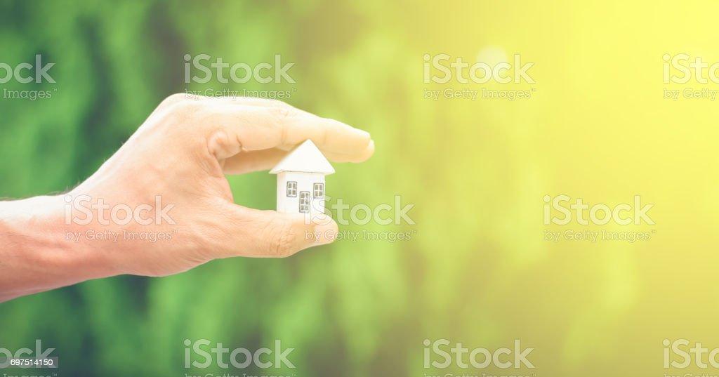 Man hands stock photo
