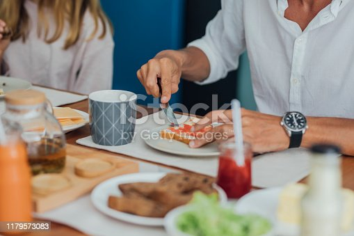 istock A Man Having a Breakfast 1179573083