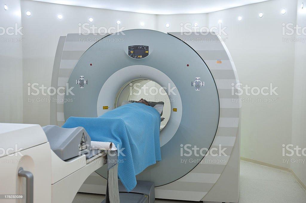 Man having a medical examination royalty-free stock photo