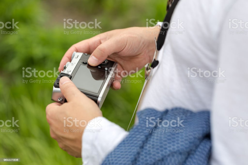 Man Holding Camera - Royalty-free Adult Stock Photo