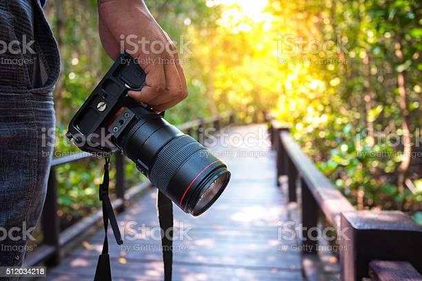 Man holding his camera on walkway during his travel picture id512034218?b=1&k=6&m=512034218&s=612x612&h=x9bjqkhrbbugdtlshn3demjiybbfuw8qftkltok0ljg=
