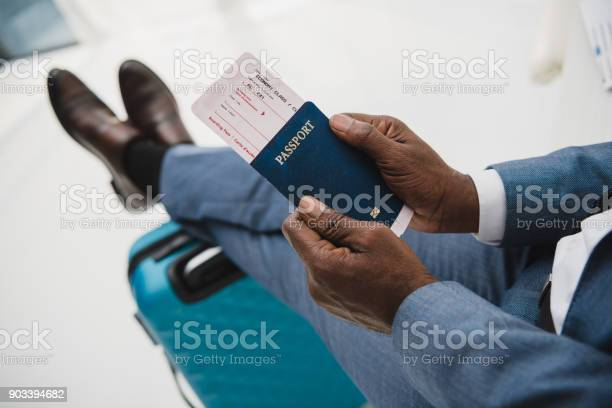 Man holding passport and fly ticket picture id903394682?b=1&k=6&m=903394682&s=612x612&h=zpfpxqz6a6zgwu6 vwv3ffx8y l1tzdsu ztwqfezmm=