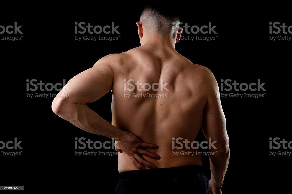 b6fa35eb2 Foto de Homem Com Dor Lombar Cintura Que Sofrem De Dor Corpo e mais ...