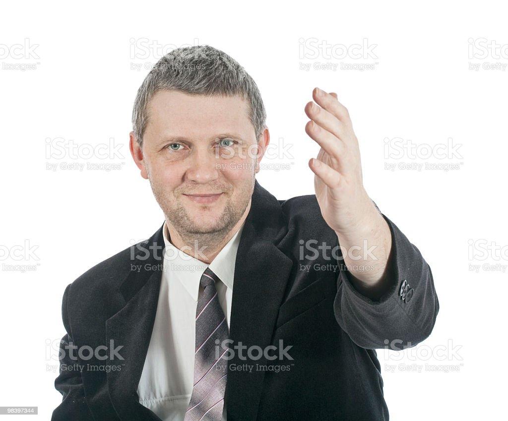 Man in 블랙 코트 royalty-free 스톡 사진