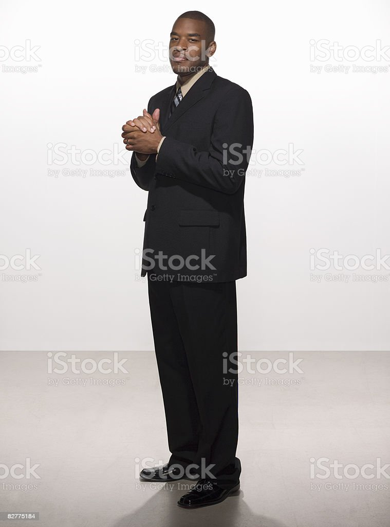 man in business suit royalty free stockfoto