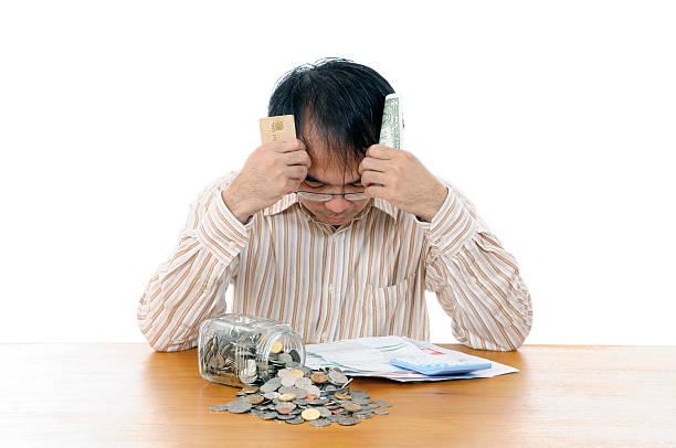 Mann in finanziellen Krise – Foto