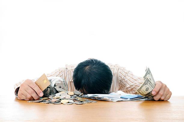 Mann in wirtschaftliche Not – Foto