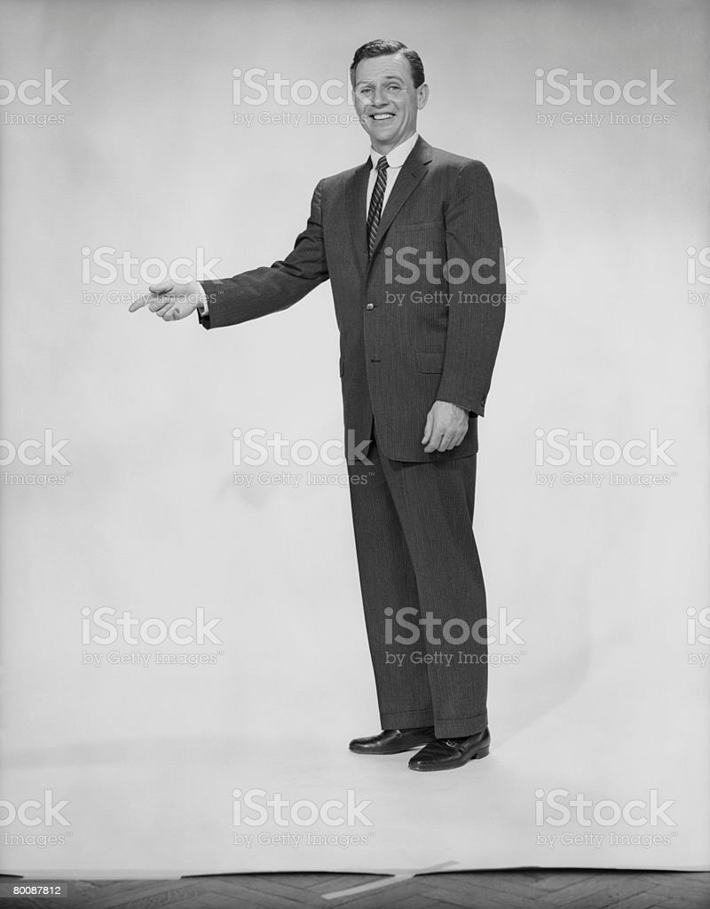 Man in 풀수트 몸짓, 인물 사진 royalty-free 스톡 사진