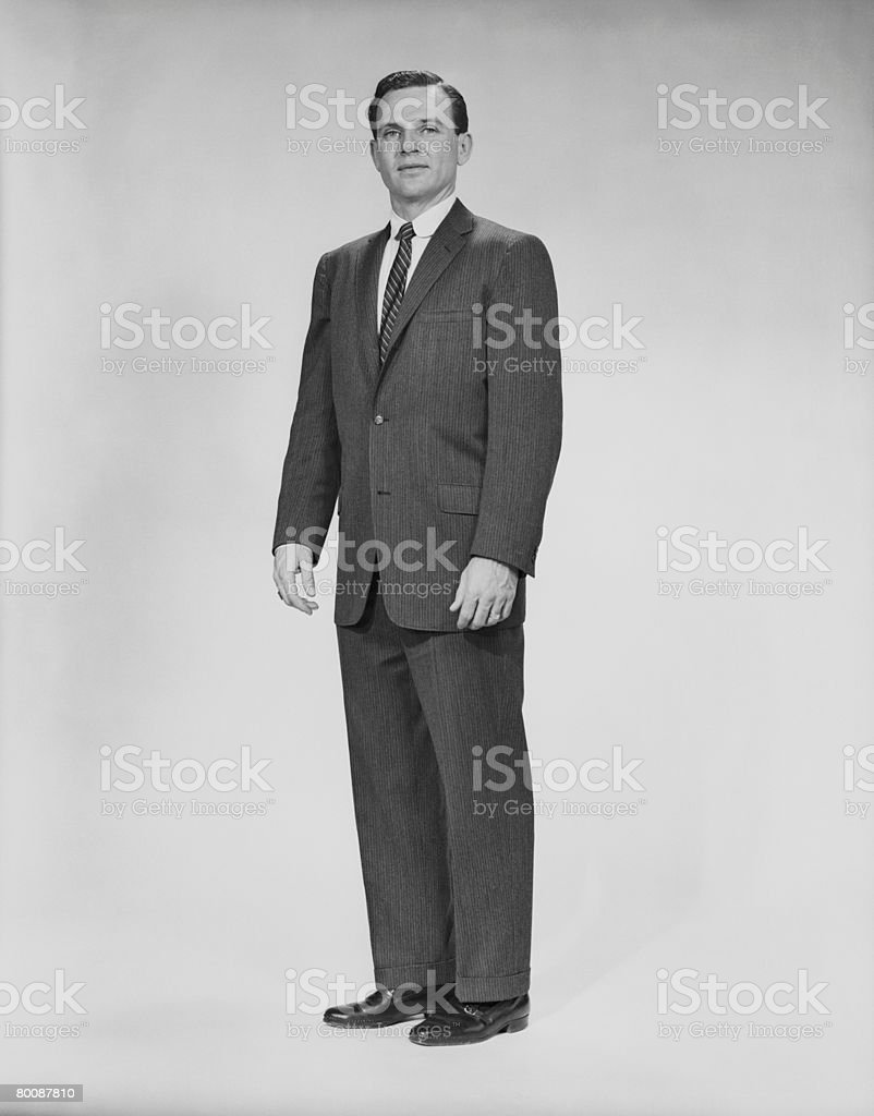 Man in 풀수트, 인물 사진 royalty-free 스톡 사진
