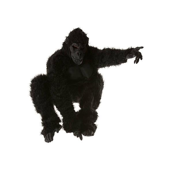 Hombre en traje de gorilla - foto de stock