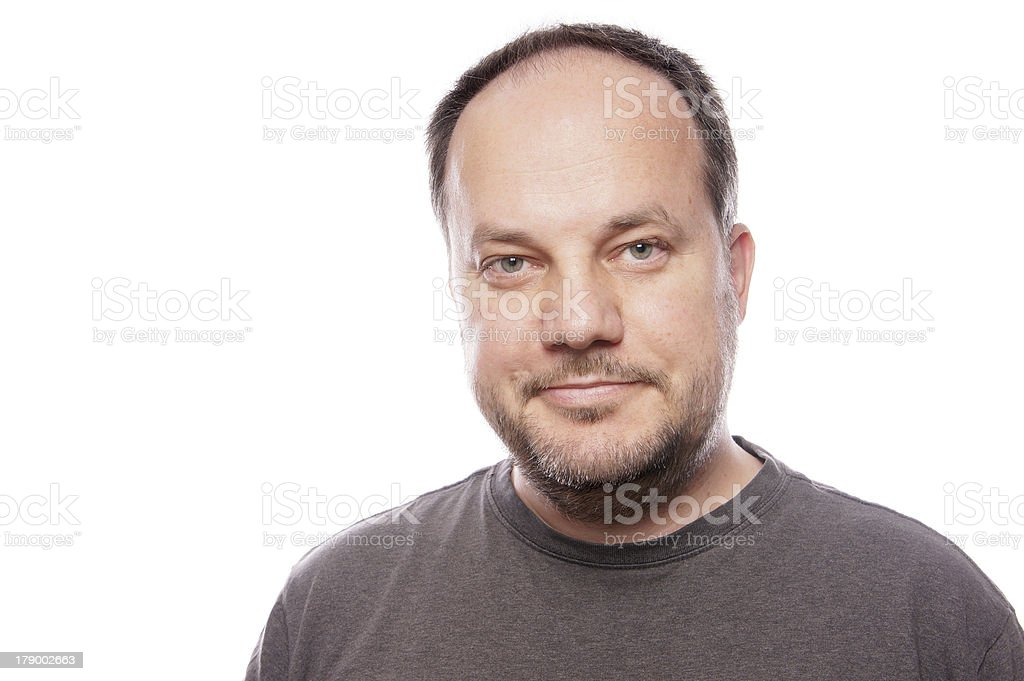 man in his forties royalty-free stock photo