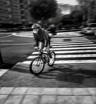 Man in motion