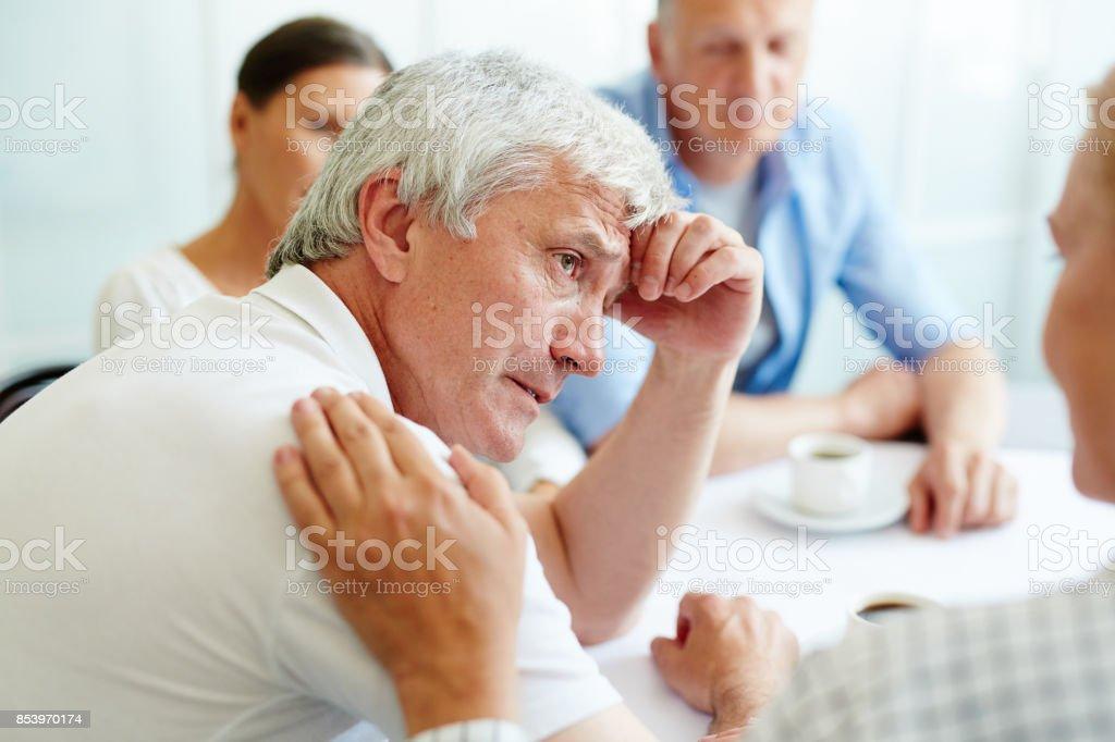 Menschen in Not Lizenzfreies stock-foto