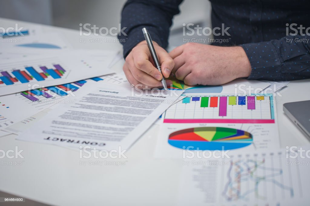 Man in office royalty-free stock photo