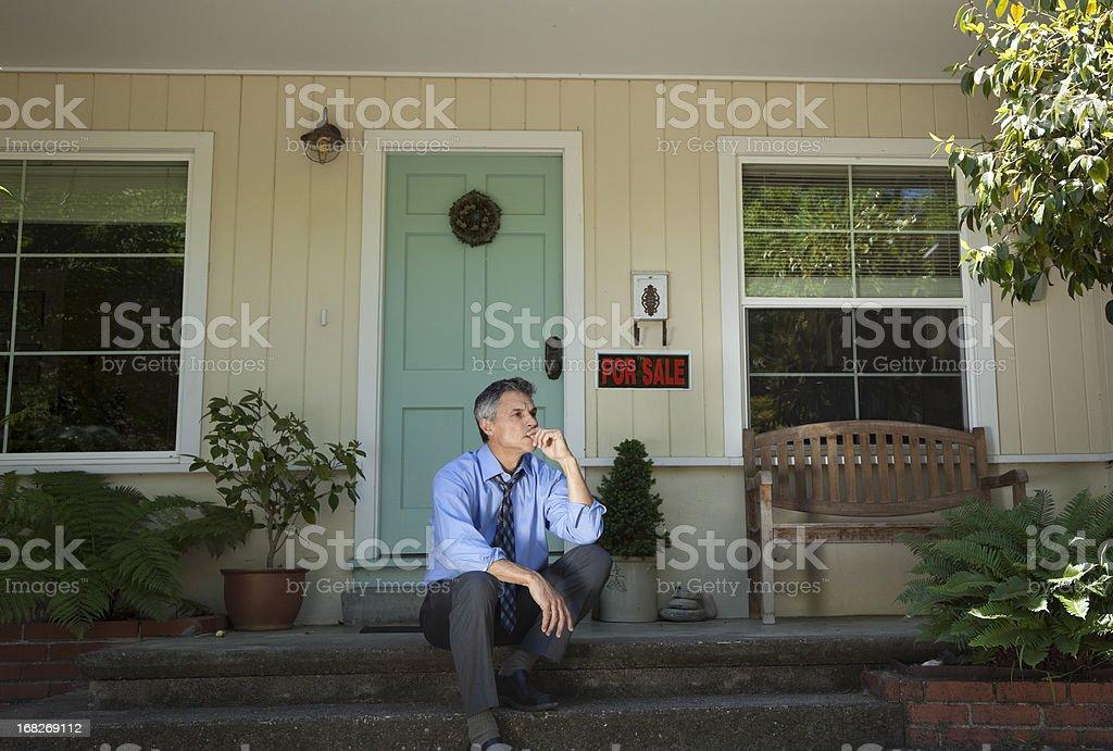 Casa embargo hipotecario - foto de stock