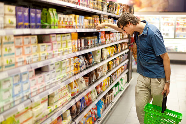 Man in the store 21288978 stock photo