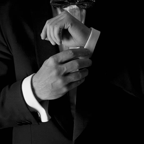 man in tuxedo - tuxedo stock photos and pictures