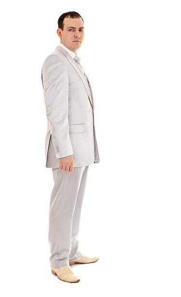 mann mit hochzeit anzug - bräutigam anzug vintage stock-fotos und bilder