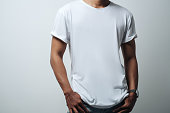 istock man in white blank t-shirt 950965584