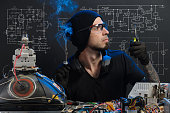 istock man is engaged in repair of electronics 685885484