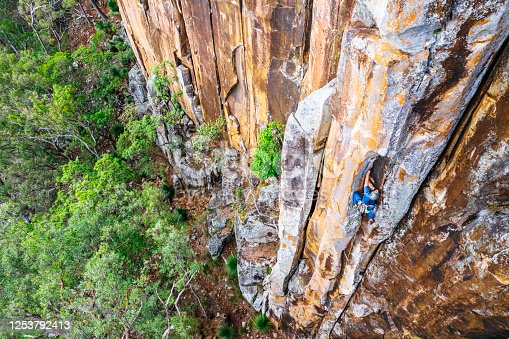 Frog Buttress is a world class and popular crack climbing area not far from the town of Boonah