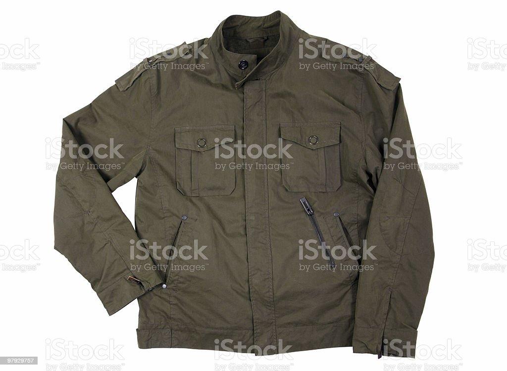 Man jacket clothing royalty-free stock photo