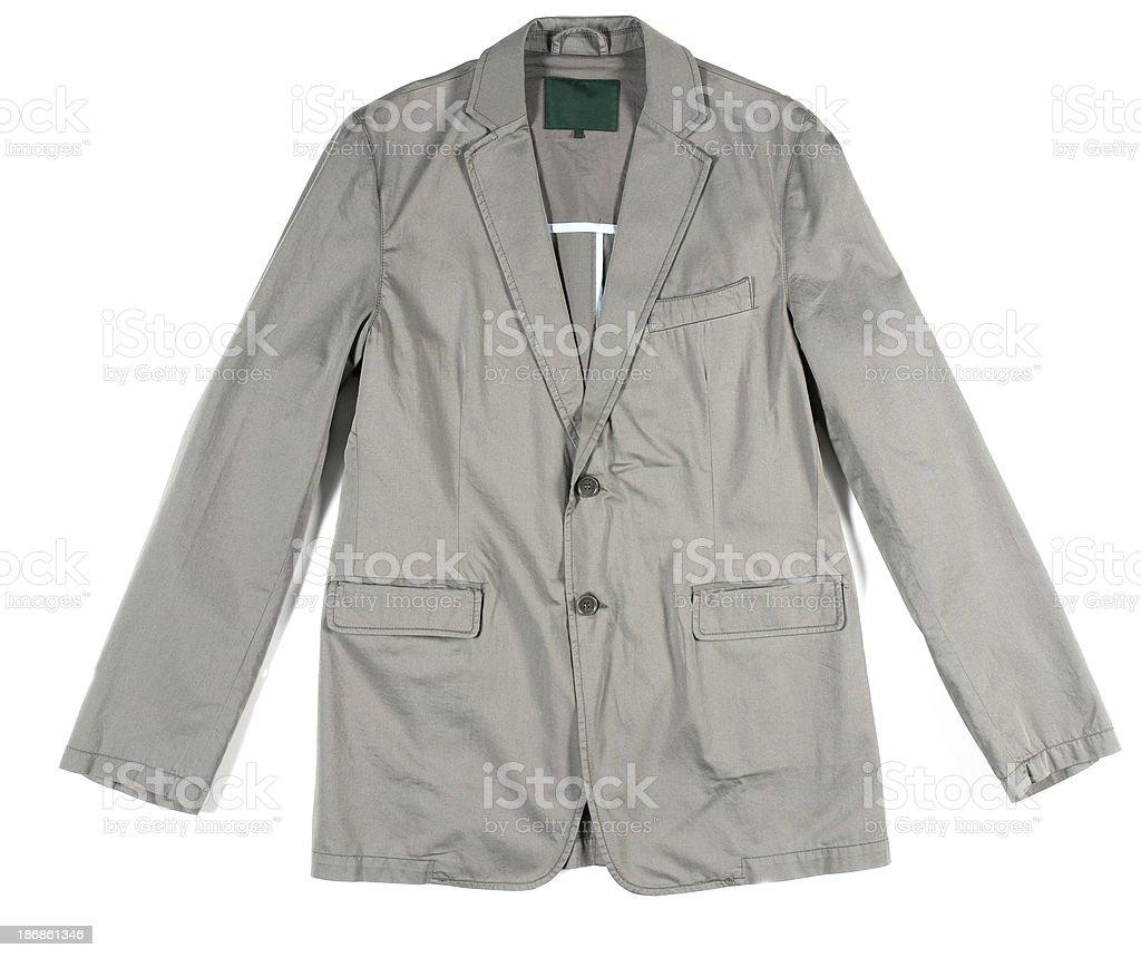 man jacket isolated royalty-free stock photo